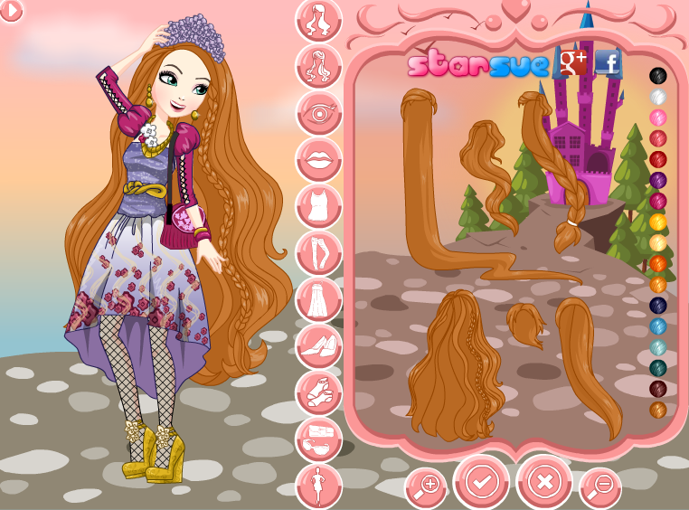 Игры Ever After High Холли О Хейр